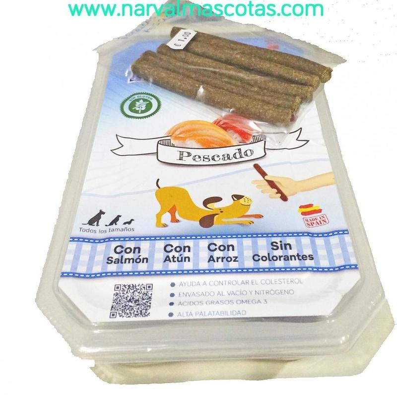 Ibéricas Sticks Pescado (Mediterranean Natural): Productos y Servicios de Narval Mascotas