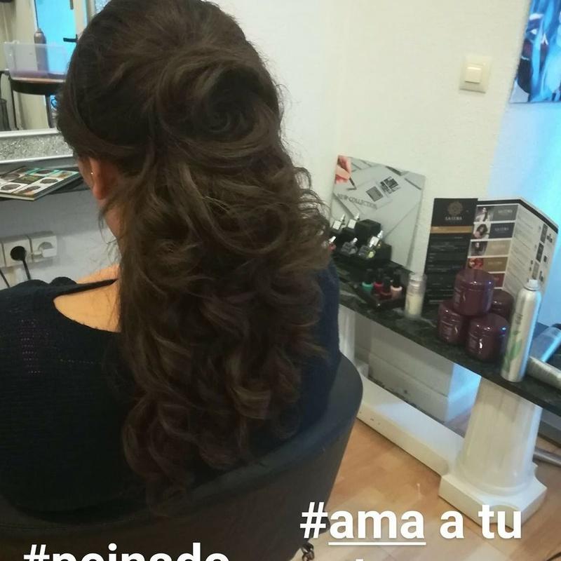 Peinados: Servicios de Peluquería Cristina
