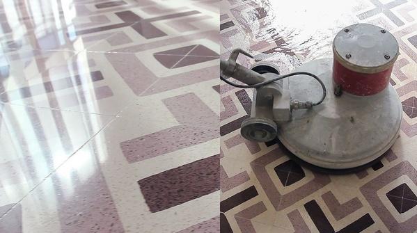 Abrillantado de suelos y pavimentos: Servicios de Tinko Garbiketak