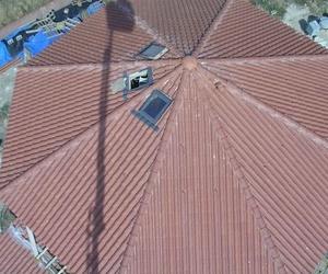 Acabados en techos de edificios