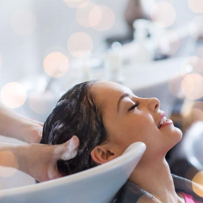 Técnicas de lavado para el cabello
