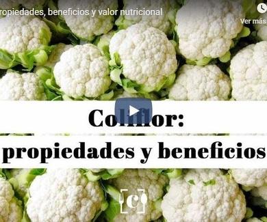 Coliflor: propiedades, beneficios y valor nutricional