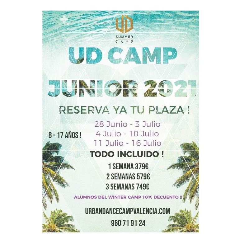 Urban Summer Dance Camp Junior 2021