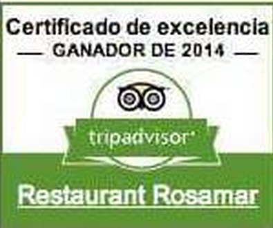 CERTIFICADO DE EXCELENCIA Restaurante en la Costa Brava
