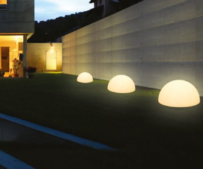 JARDIN ILUMINADO: PRODUCTOS de El Búho | Iluminación en Barcelona