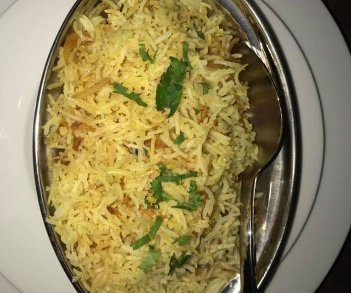 Arroces basmati: Carta de Tandoori Dhaba Indian
