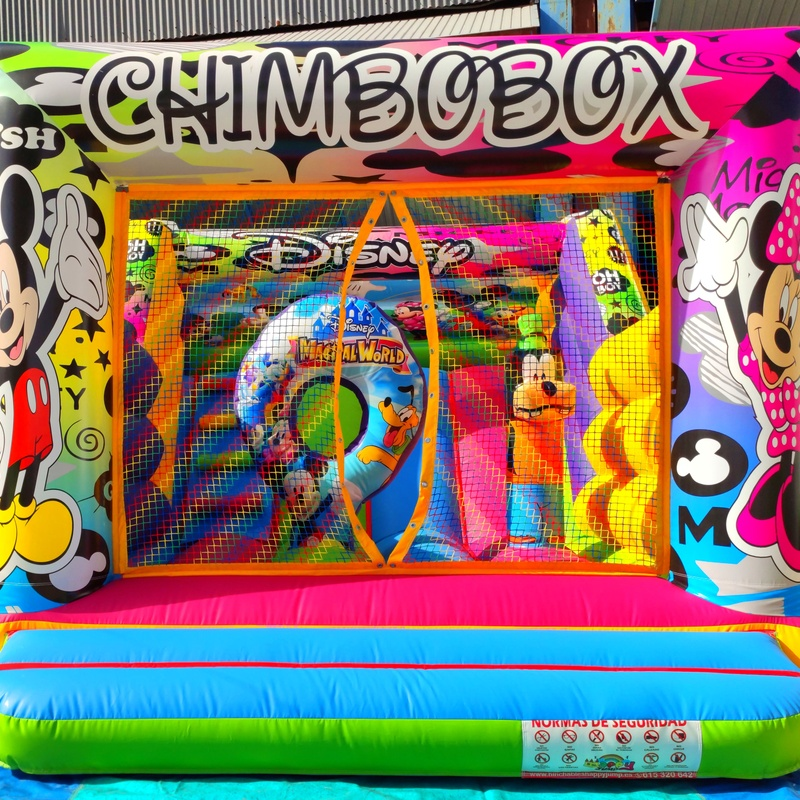 Tobogán chimbobox : Catálogo de Hinchables Happy Jump