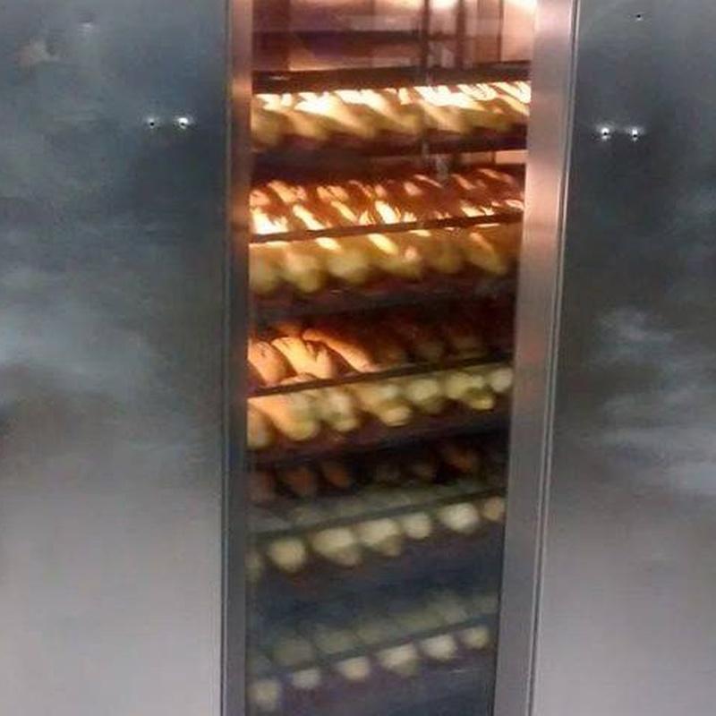 Pan cocido y precocido: Productos de jose antonio cabrera