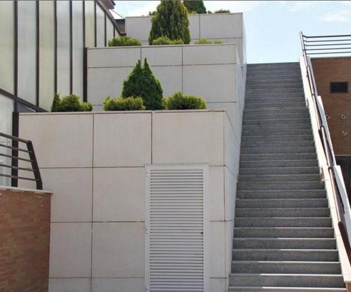 Fachadas ventiladas y recibidas: Productos de Prefabricados Ponce