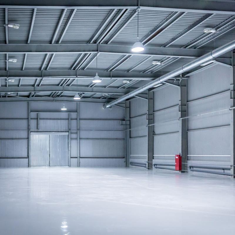 Construcción de naves industriales y ganaderas: Nuestros servicios de Hefemar Empresa Constructora