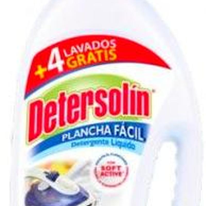 DETERSOLIN PLANCHA FÁCIL 2.310ML.: SERVICIOS  Y PRODUCTOS de Neteges Louzado, S.L.
