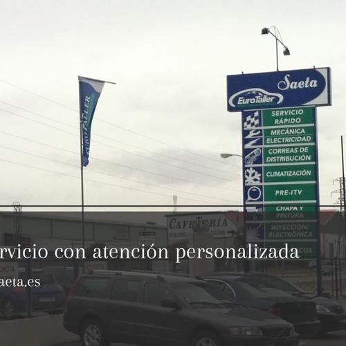 Talleres cercanos en Aranda de Duero | Talleres Saeta