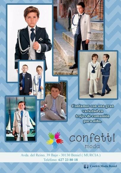 Trajes de comunión niño: Catálogo de Confetti Moda Beniel