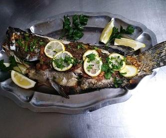 Entrantes: Carta de Restaurante Amarca