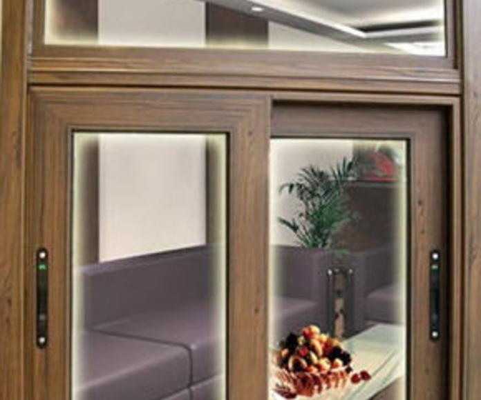 Ventana corredera elevable, serie 80 Puerta : Productos y servicios de Metal Masa, S.L.