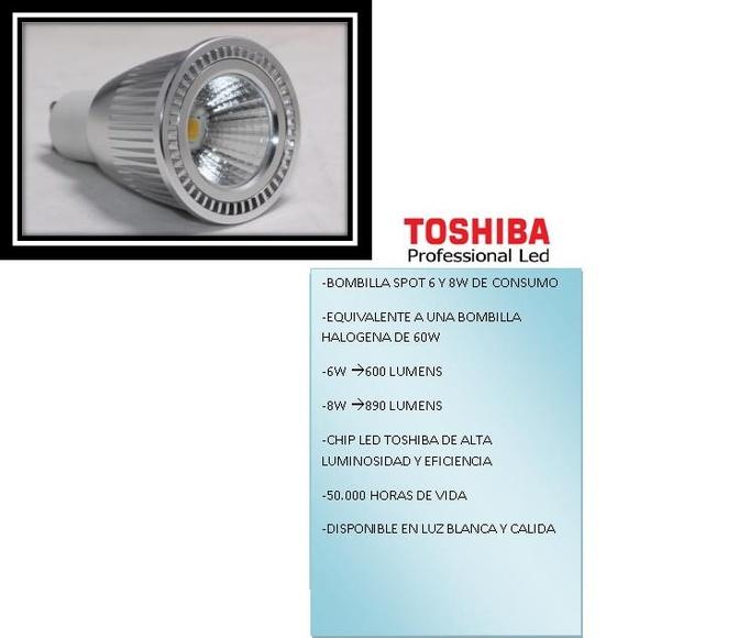 3.1 BOMBILLA LED TOSHIBA 6W Y 8W.: PRODUCTOS de El Búho | Iluminación en Barcelona