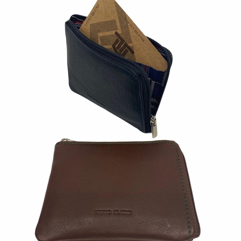 Tarjetero monedero de TITTO BLUNI, Ref. 600, Precio 9€