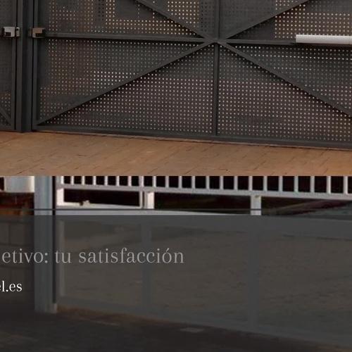 Puertas seccionales en Logroño