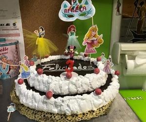 Las princesas Disney en tu tarta