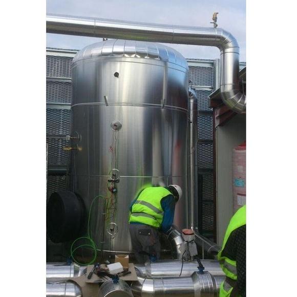 Acumuladores agua caliente: Servicios de Aislamientos Hermanos Mateo