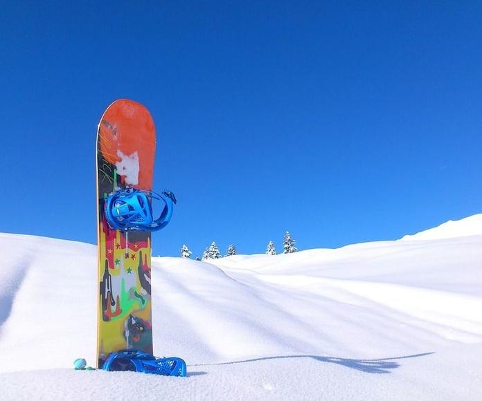 Reparación  de material de Snowboard Formigal