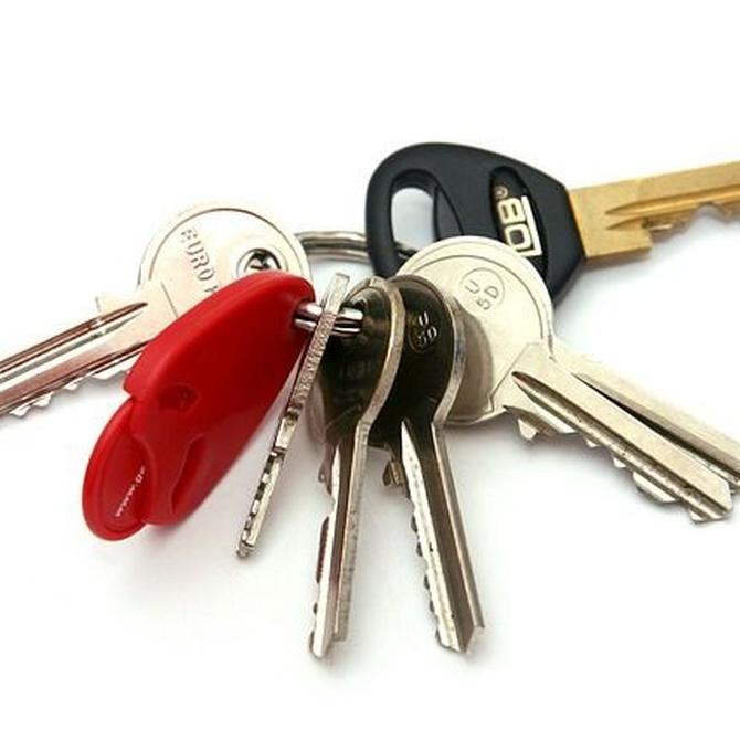 Los diferentes tipos de llaves