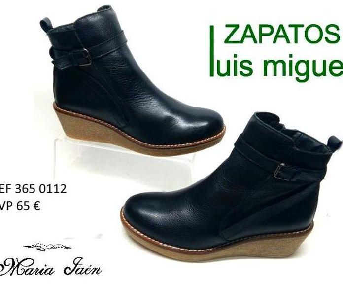 botines con cuña de Maria Jaen: Catalogo de productos de Zapatos Luis Miguel
