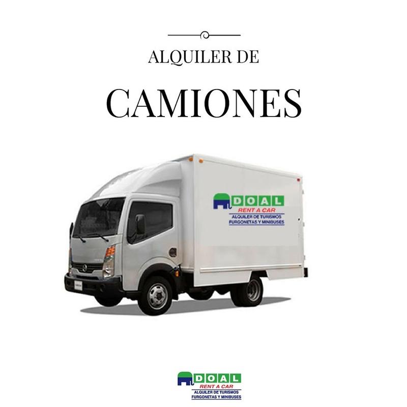 Alquiler de camiones: Servicios de DOAL Rent a Car