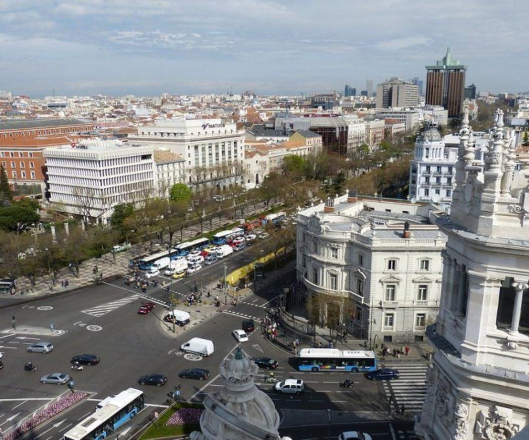 La circulación de vehículos GLP por Madrid