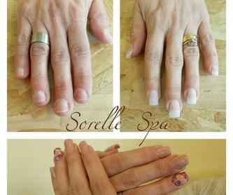 Uñas de porcelana: Servicios de Sorelle Spa