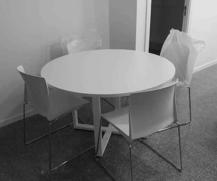 Ofertas en mesa redondas de oficina en Valencia. Ofimob