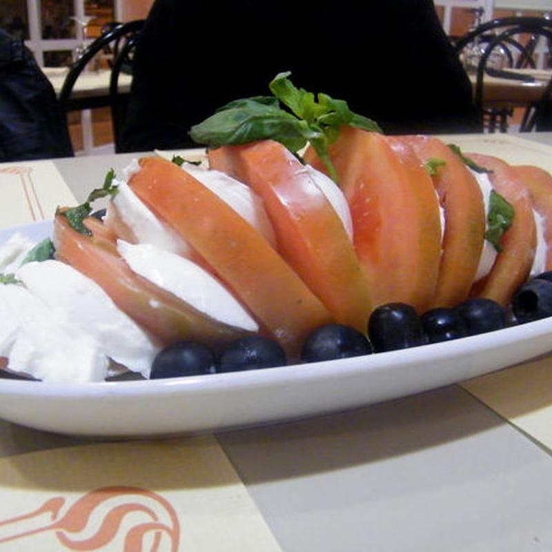 Ensaladas: Carta restaurantes   de Teletrusco