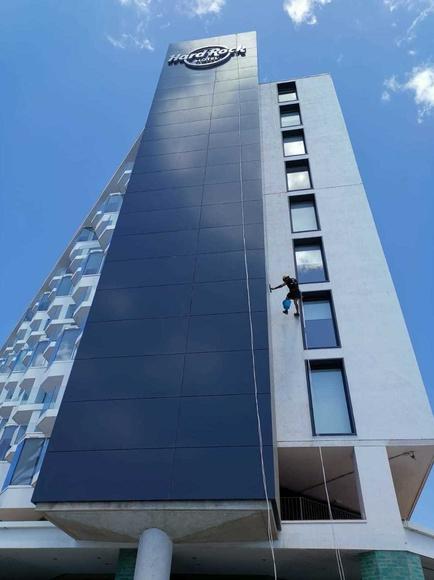 Trabajos verticales en entornos urbanos