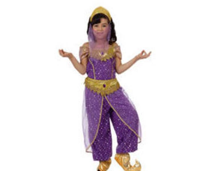Disfraz árabe niña