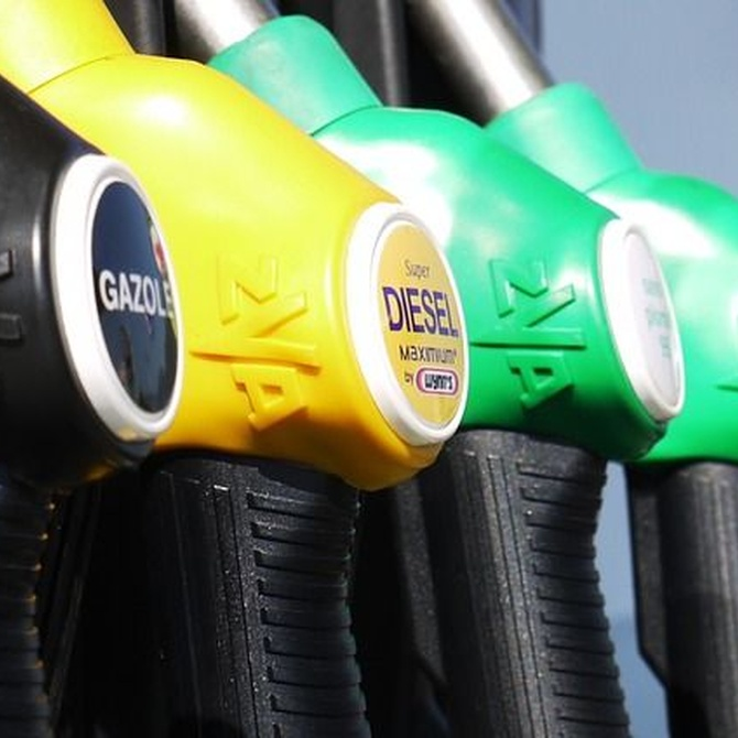 ¿Es el diésel más barato en todos sitios comparado con la gasolina?