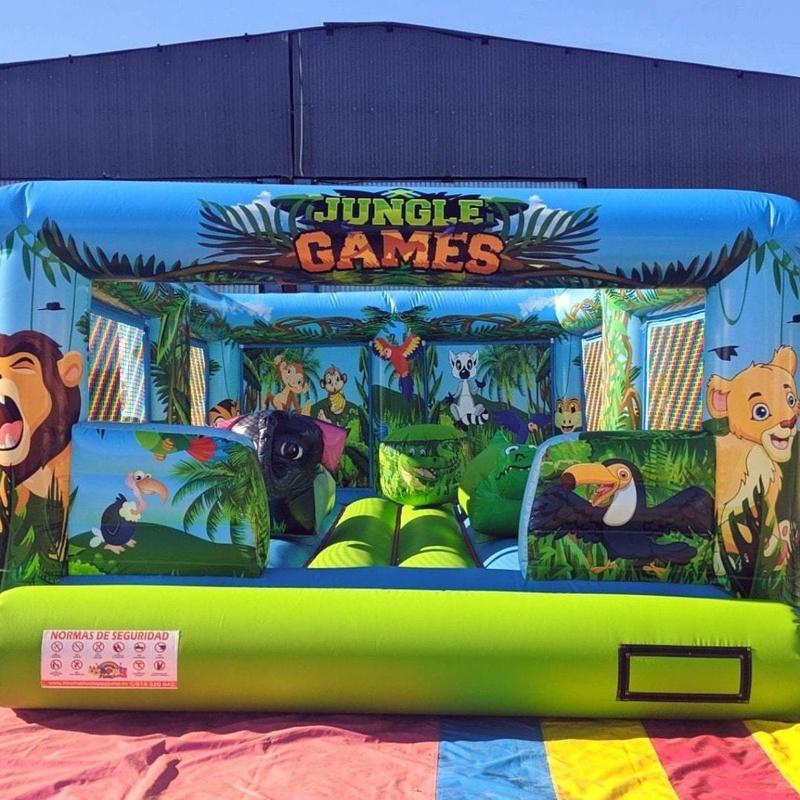 Plataforma Jungla Game sin techo : Catálogo de Hinchables Happy Jump