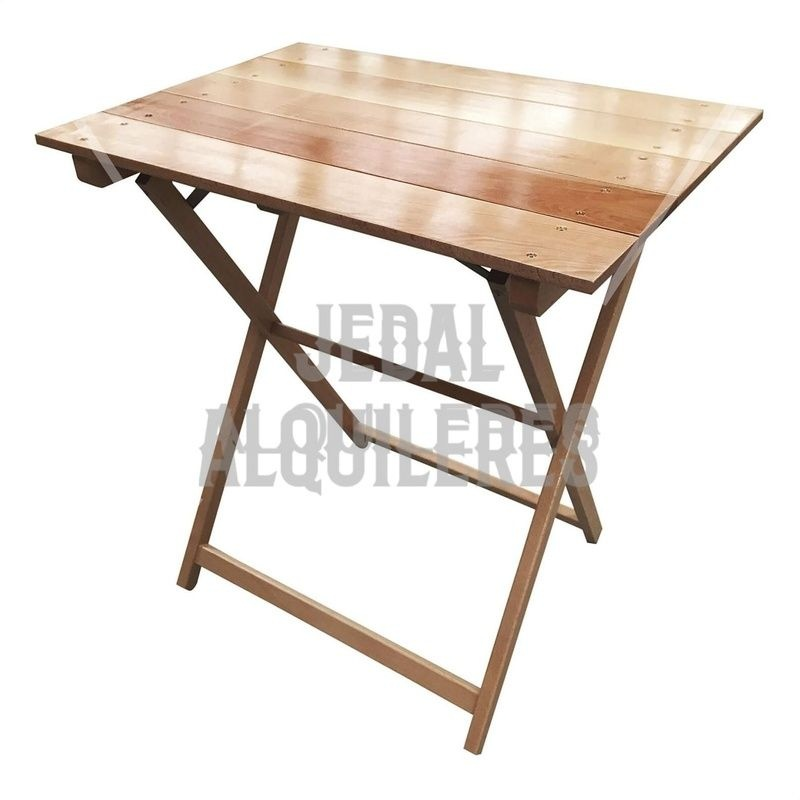 Mesa plegable madera: Catálogo de Jedal Alquileres