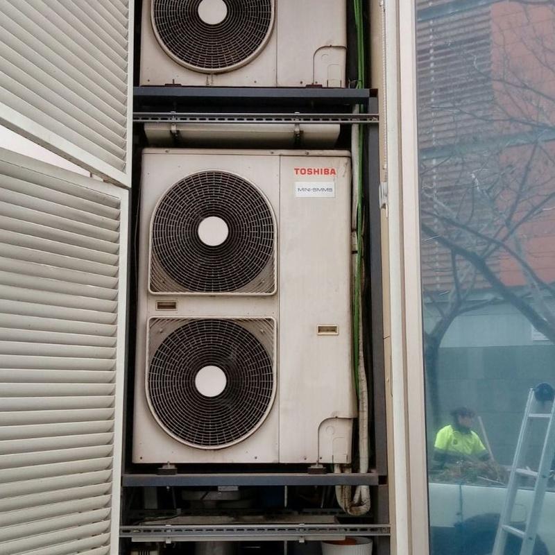 Aire acondicionado   : SERVICIOS de Instalaciones Corneclima