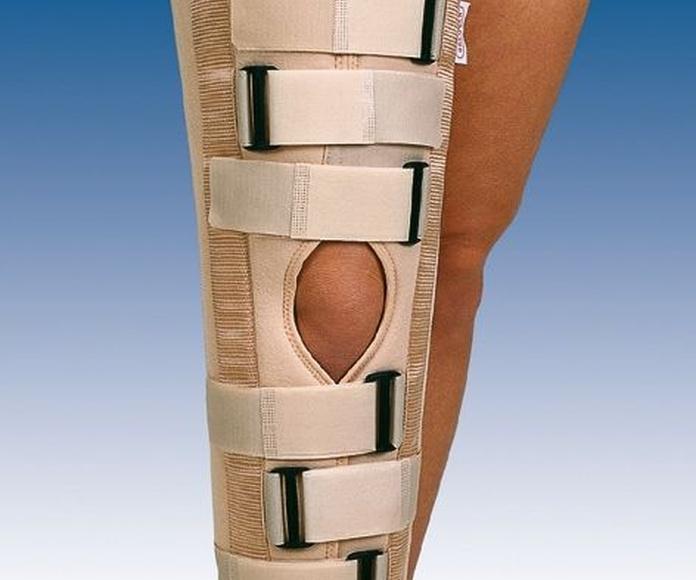 Inmovilizador de rodilla de tres paneles: PRODUCTOS de Ortopedia J. Ribas