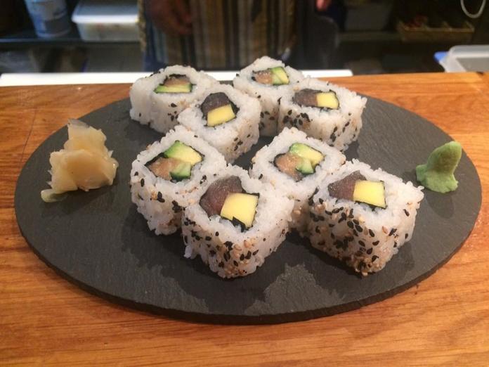 Sushi tempura (8 piezas - 8 pieces): Carta de Sushis Ibiza