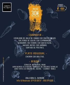 Menu Degustación 30€