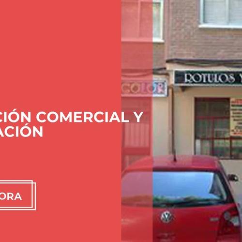 Empresa de rótulos en Madrid centro: Neón Color