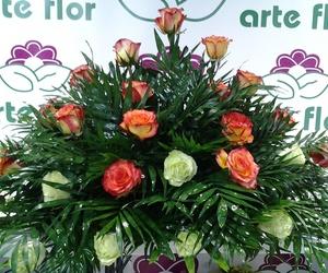 Palma de 30 rosas