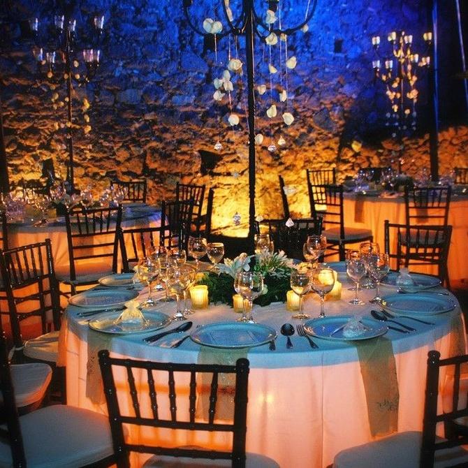 La importancia de la iluminación en las bodas