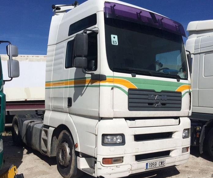 MAN TGA 460 XXL: Vehículos industriales de Emirtrucks Trading