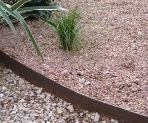 Borduras metálicas para jardines