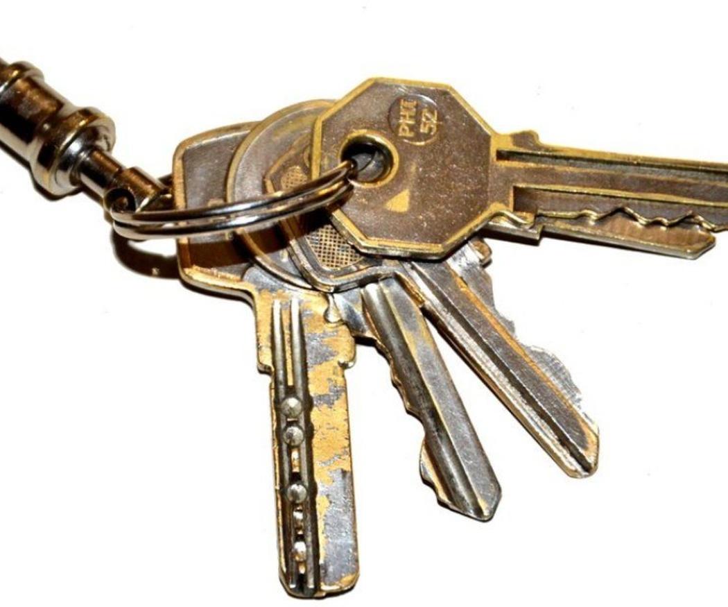 Intenta evitar estas costumbres con las llaves para no tener sorpresas