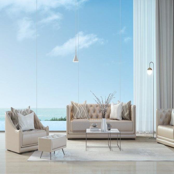 Cortinas de cristal para ganar espacio en tu hogar