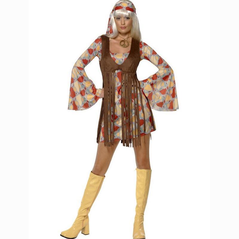 Disfraz hippie años 60
