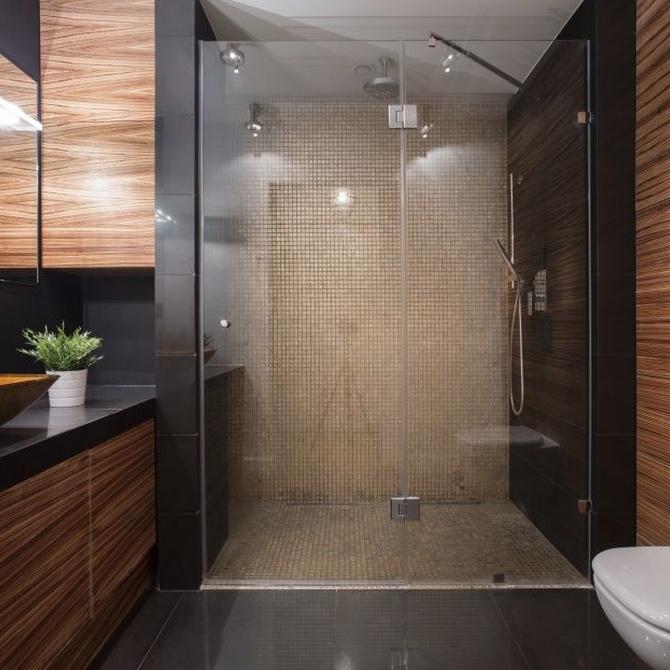 4 razones para elegir una mampara en vez de una cortina de ducha